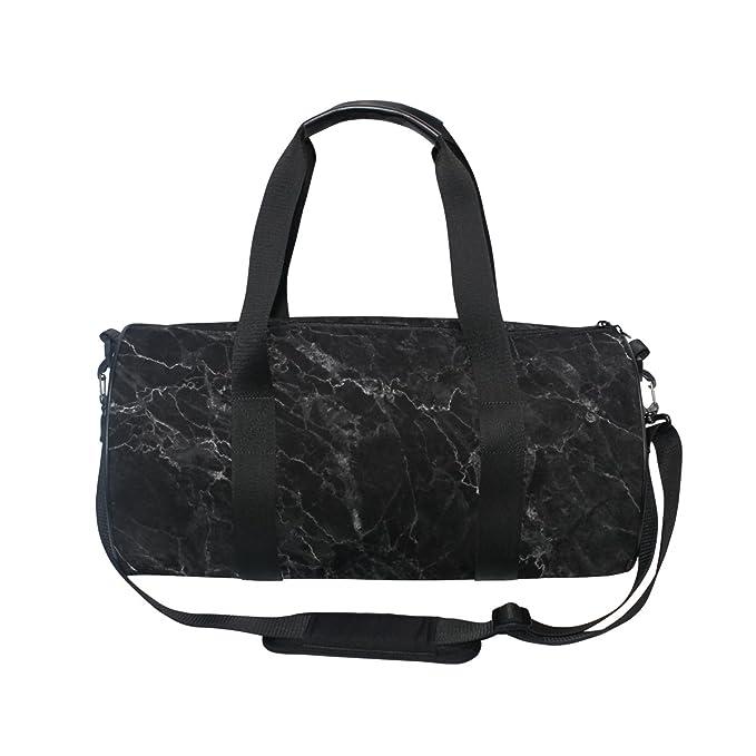 Amazon.com: ALAZA elegante mármol negro deportes gimnasio ...