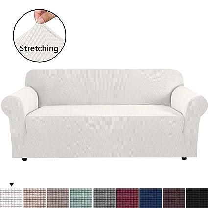 Amazon.com: H.VERSAILTEX Soft Spandex Extra Large Sofa ...