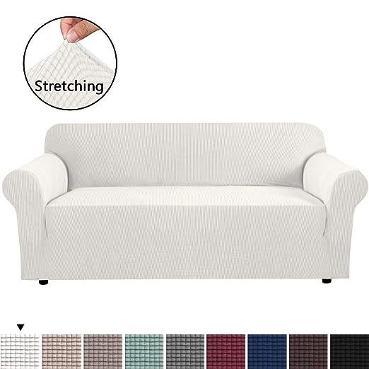 Amazon.com: H.VERSAILTEX - Funda para sofá (elastano, se ...