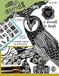 Tangle Me - Aussie Animals: a Zentangle-inspired art activity book for all ages (Volume 1)