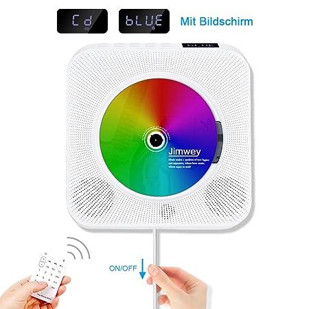 Jimwey CD MP3 player FM radio HIFI Bluetooth Speaker: Amazon co uk