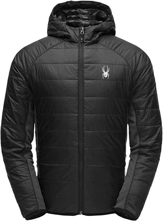 SPYDER Men/'s Glissade Hoody Insulated Hooded Jacket for Winter Sports