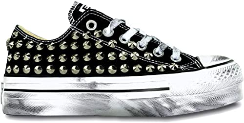 all star converse borchie nere
