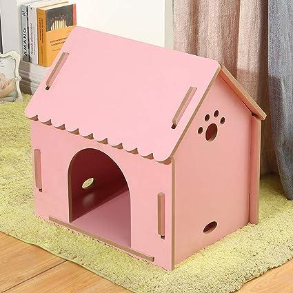 Casa de mascotas, Perro Grande, Mediano y pequeño Nido para Mascotas Jaula de Jaula