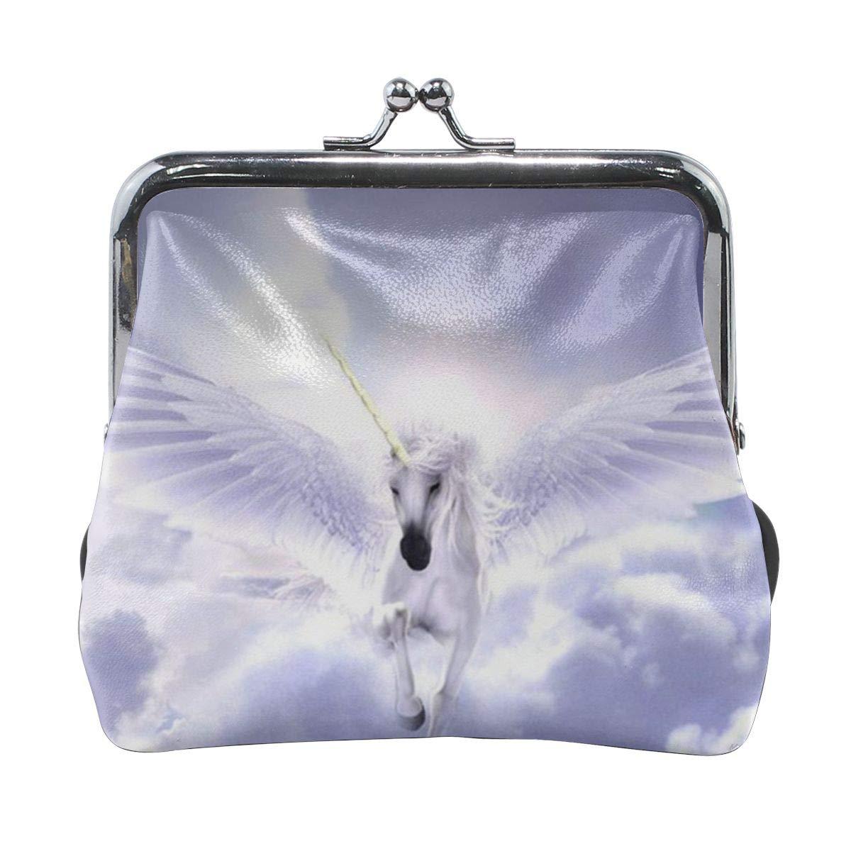 Pegasus Unicorn Cute Buckle Coin Purses Buckle Buckle Change Purse Wallets