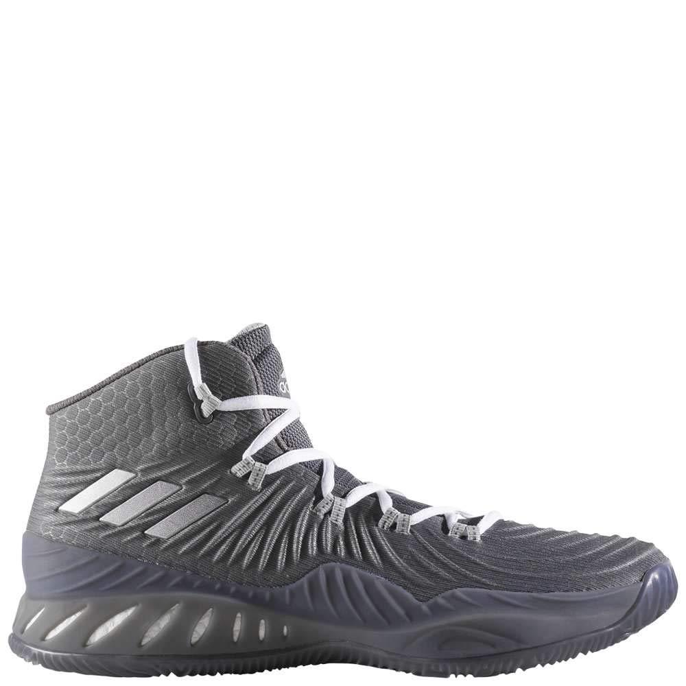 gris Plateado adidas Crazy Explosive 2017 - Hauszapatos de Baloncesto para Hombre