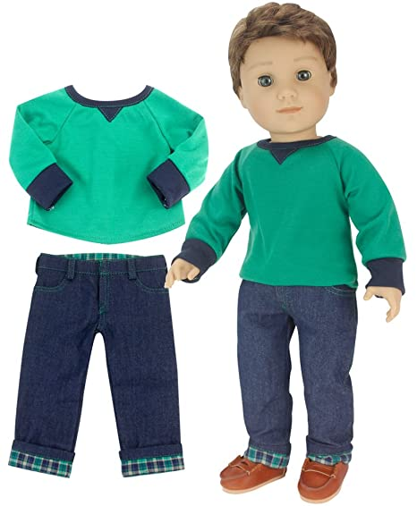 4f26375be0d98 Image Unavailable. Image not available for. Color  Sophia s 18 Inch Boy Doll  ...