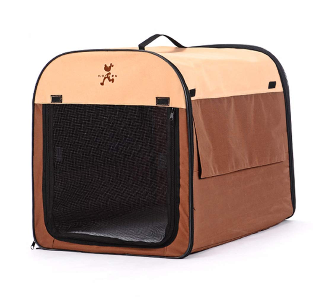 Brown Medium Brown Medium Portable Tent for Large Dogs,Composite Cloth Pet House