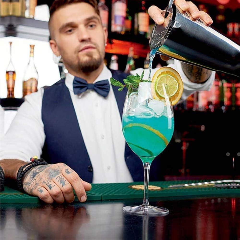 10 piezas de cóctel cóctel coctelera de acero inoxidable Cocktail ...