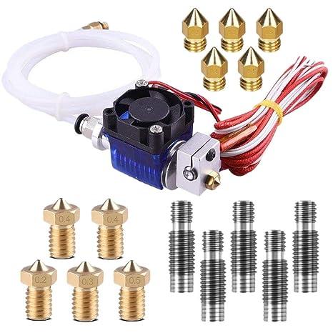 Shumo V6 Hotend Kit Completo Impresora 3D TopDirect J-Head V6 con ...
