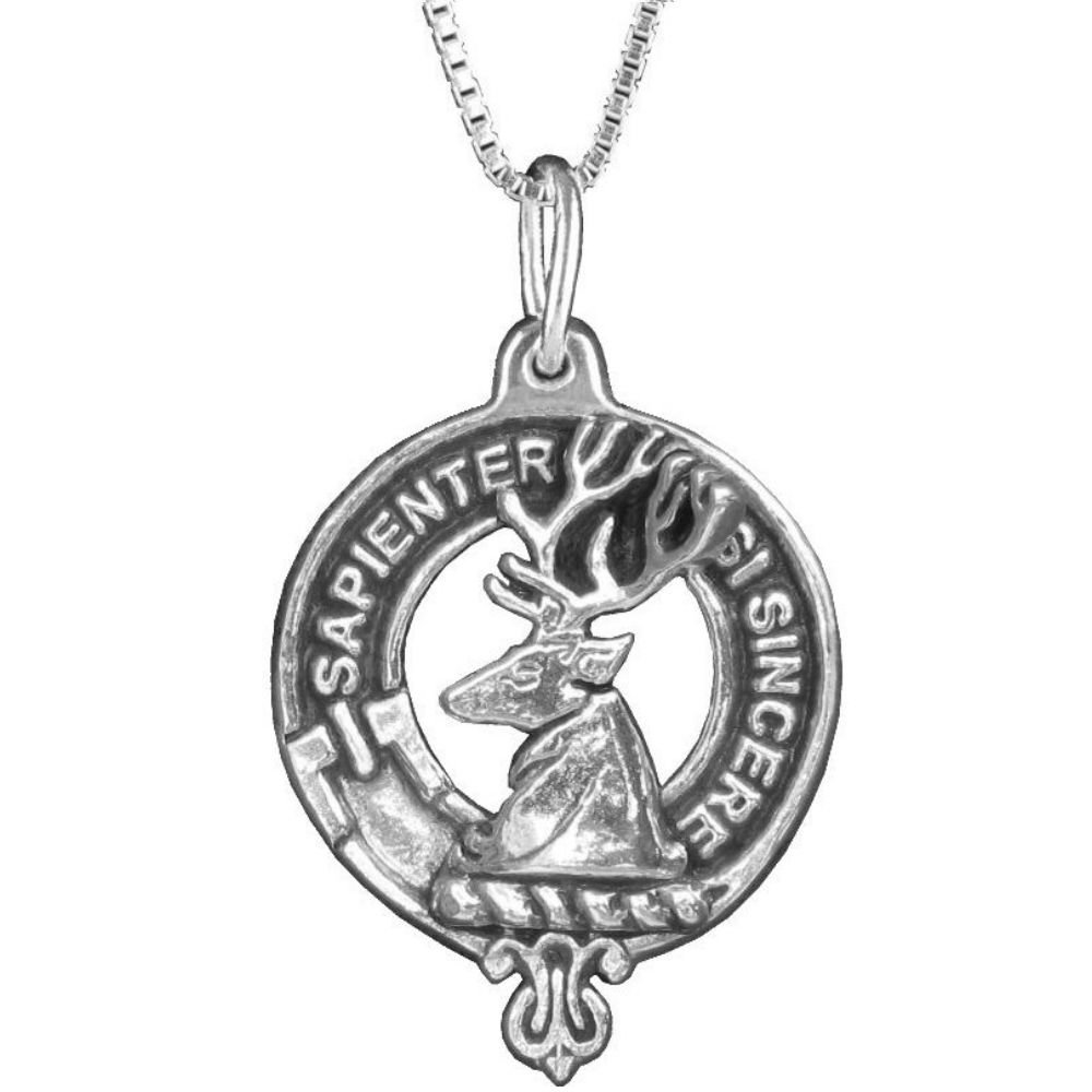 Davidson Clan Crest Scottish Pendant