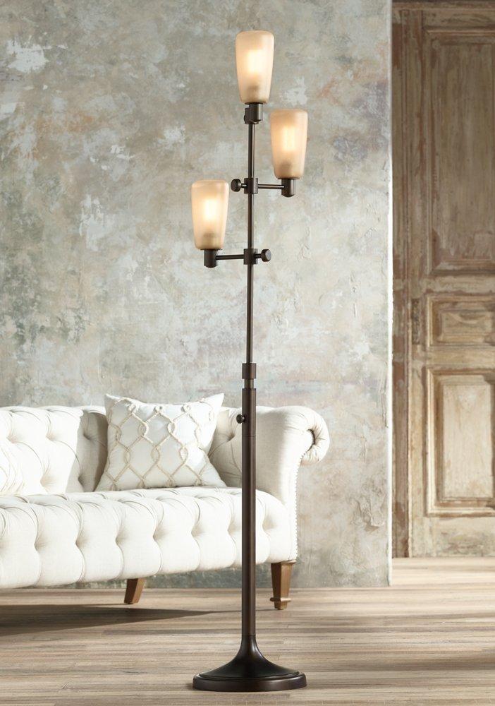 Amazon.com: Ascot Oil Rubbed Bronze 3 Light Tree Floor Lamp: Home  Improvement