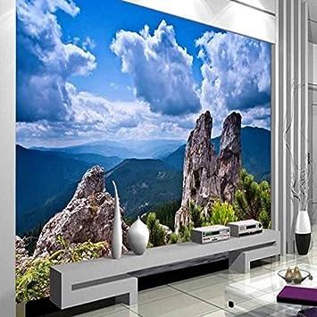 Sproud Große Custom Wallpaper Landschaft Gemälde Tv Hintergrund  Wandmalereien Wohnzimmer Schlafzimmer Dekoration 300 CmX 210 Cm