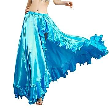 ROYAL SMEELA Falda de Danza del Vientre para Mujer Traje de Baile ...