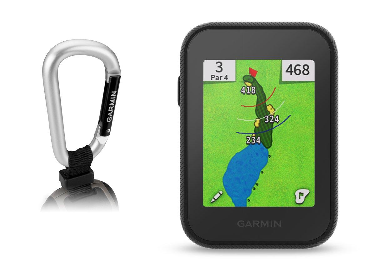 Garmin Approach G30 Handheld Golf GPS with Garmin Lanyard Carabiner
