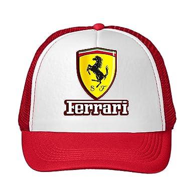 shiyi el coche amarillo Logo Adjustable Snapback Gorra de malla ...