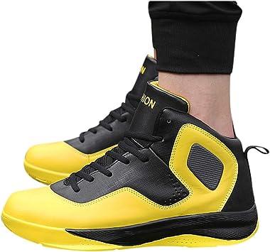 Memefood Hombre Zapatillas de Baloncesto Calzado Deportivo Al Aire ...