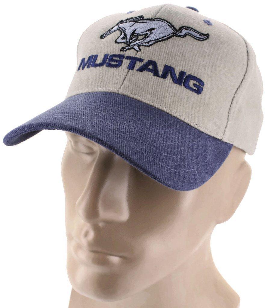 Ford Mustang Blue Baseball Cap Trucker Hat Snapback 5.0 Liter GT Cobra Shelby DanteGTS
