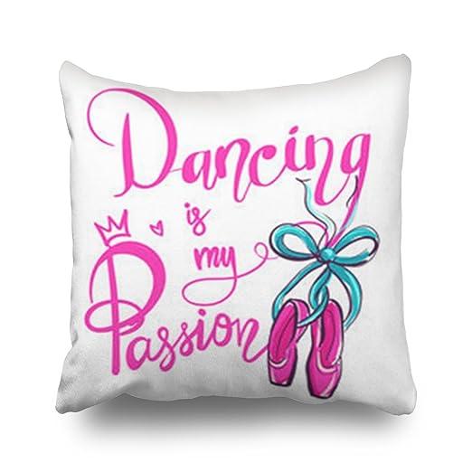 TonTong Fundas de Almohada para Bailar mi pasión Danza ...
