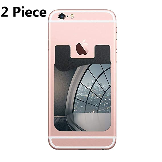 check out 8b1d5 4efed Amazon.com: Cardly (Two) Cell Phone Stick on Wallet Card Holder ...