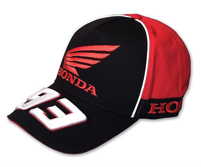 Unbekannt Marc Marquez Honda Cap, Negro, Tapa, Gorra, Pantalla Gorro, MotoGP: Amazon.es: Deportes y aire libre