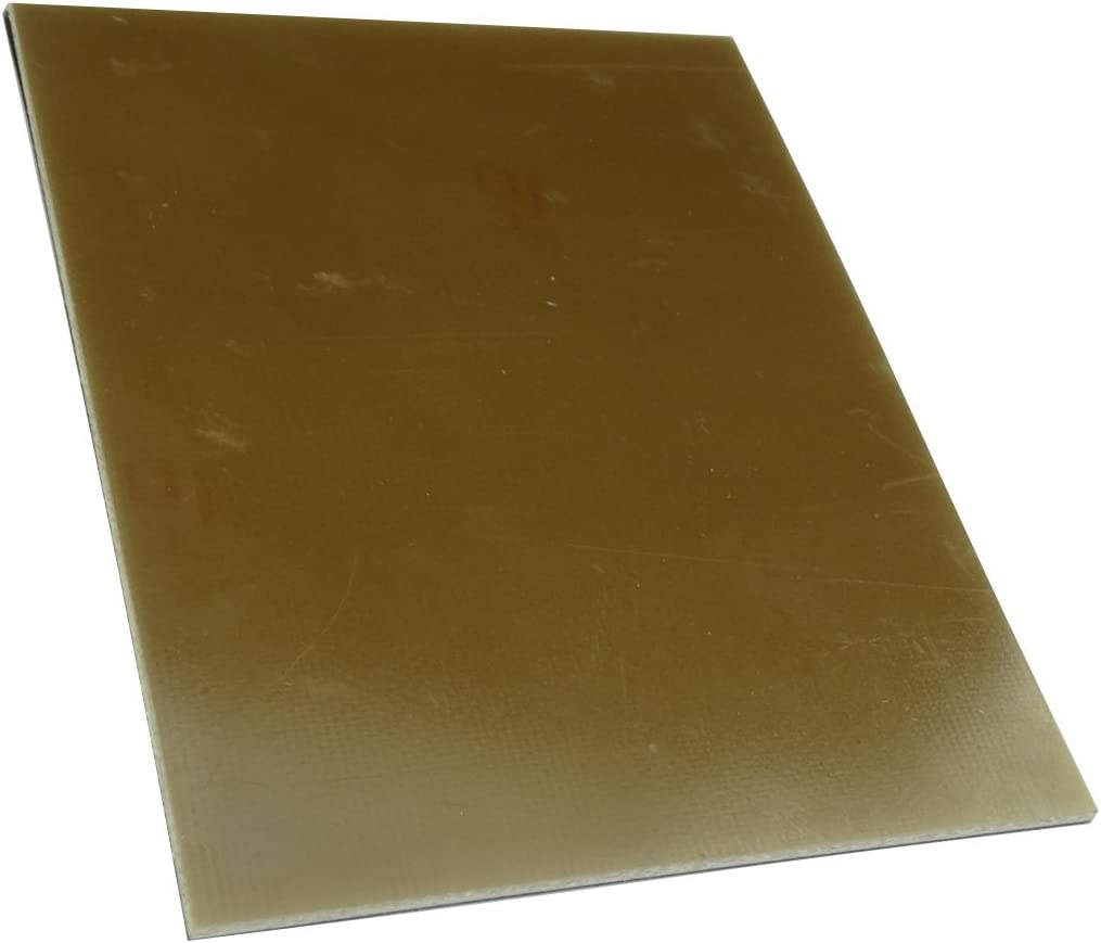AERZETIX Plaque Planche Feuille en cuivre pour Circuit imprim/é 160//100//1.5mm 35/µm r/ésine epoxy Fibre de Verre C40702