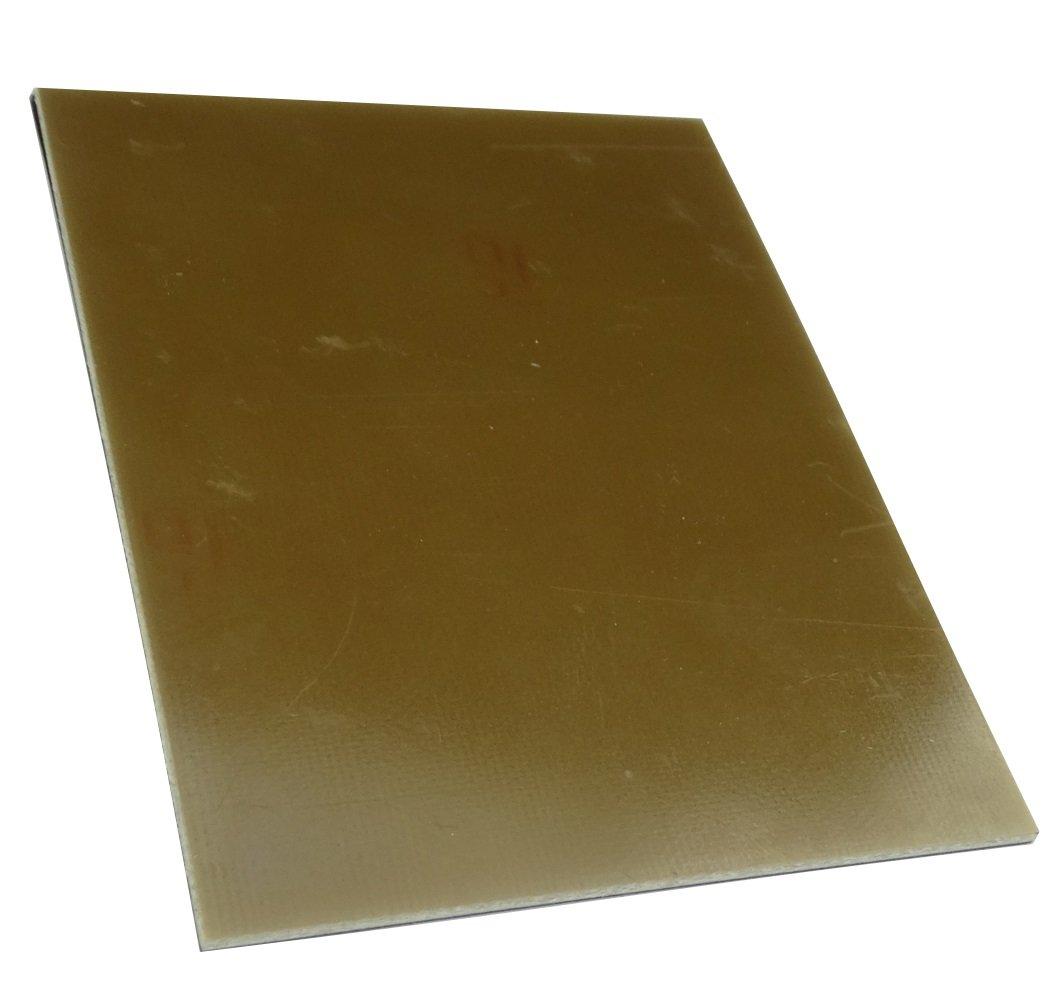 Aerzetix 10/Foglie lastre di rame per circuito 100//75//1,5/mm FR4/resina epossidica c19016/in fibra di vetro