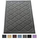 Easyology Extra Large 35' x 23' Cat Litter Mat, Traps Messes, Easy Clean, Durable, Non Toxic - LIGHT GREY