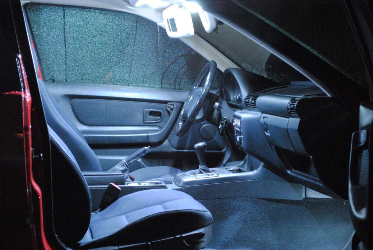 14x ampoules /à led /éclairage de voiture lampes de l?habitacle BLANC Pro!Carpentis compatible avec T5 Transporter Bus Multivan jeu d?/éclairage int/érieurs