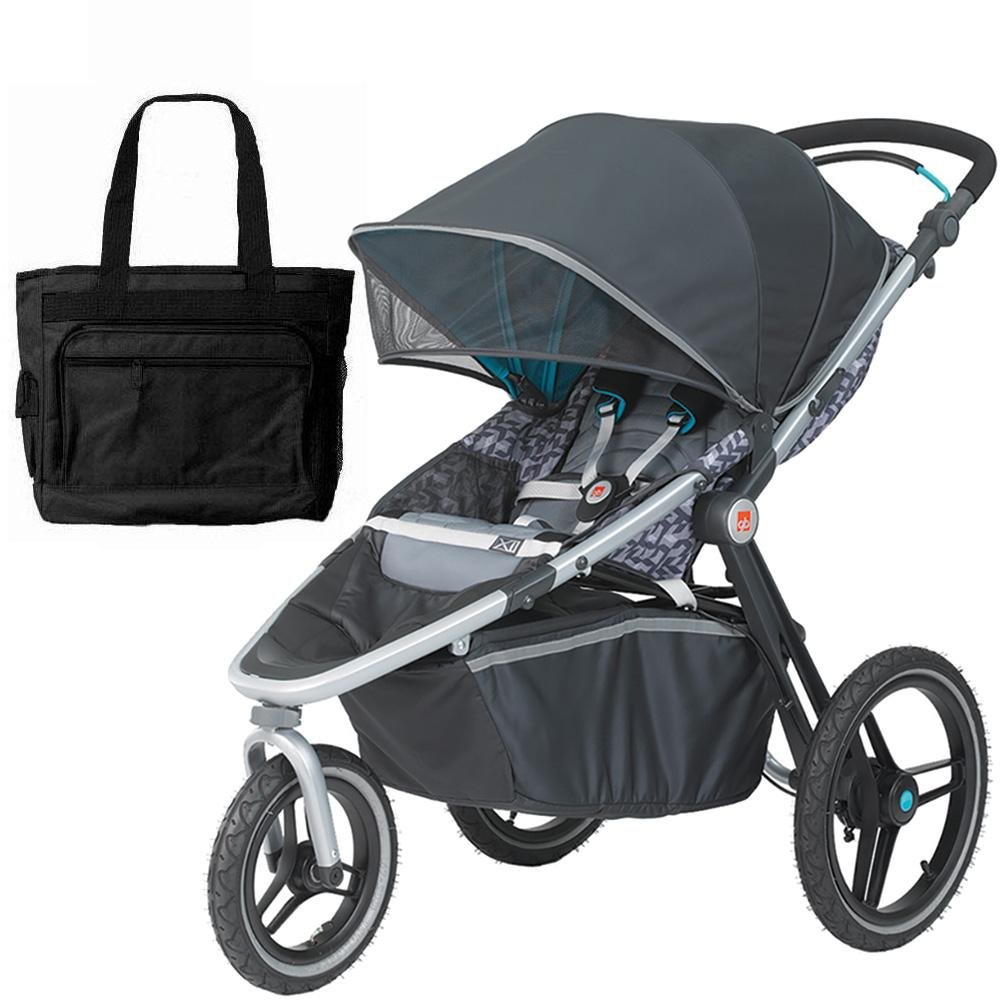Goodbaby X1 Urban Runner Jogging Stroller With Bag - Volt