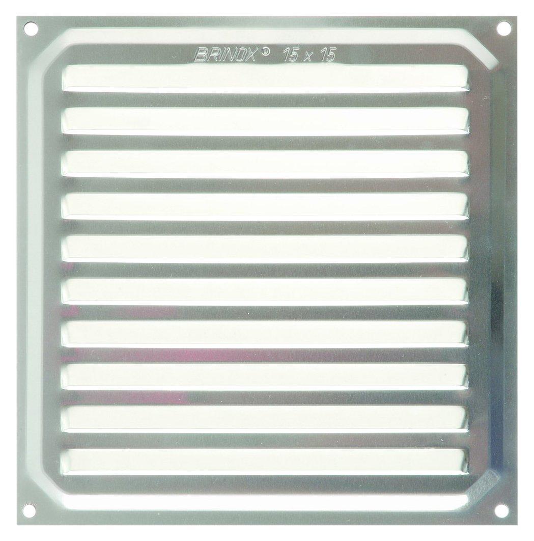 Brinox B70500Y Rejilla de ventilaci/ón Madera Clara 17 x 17 cm
