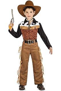 ed9a3bfa09e27 My Other Me Me-200834 Disfraz de vaquero para niño Color blanco y ...