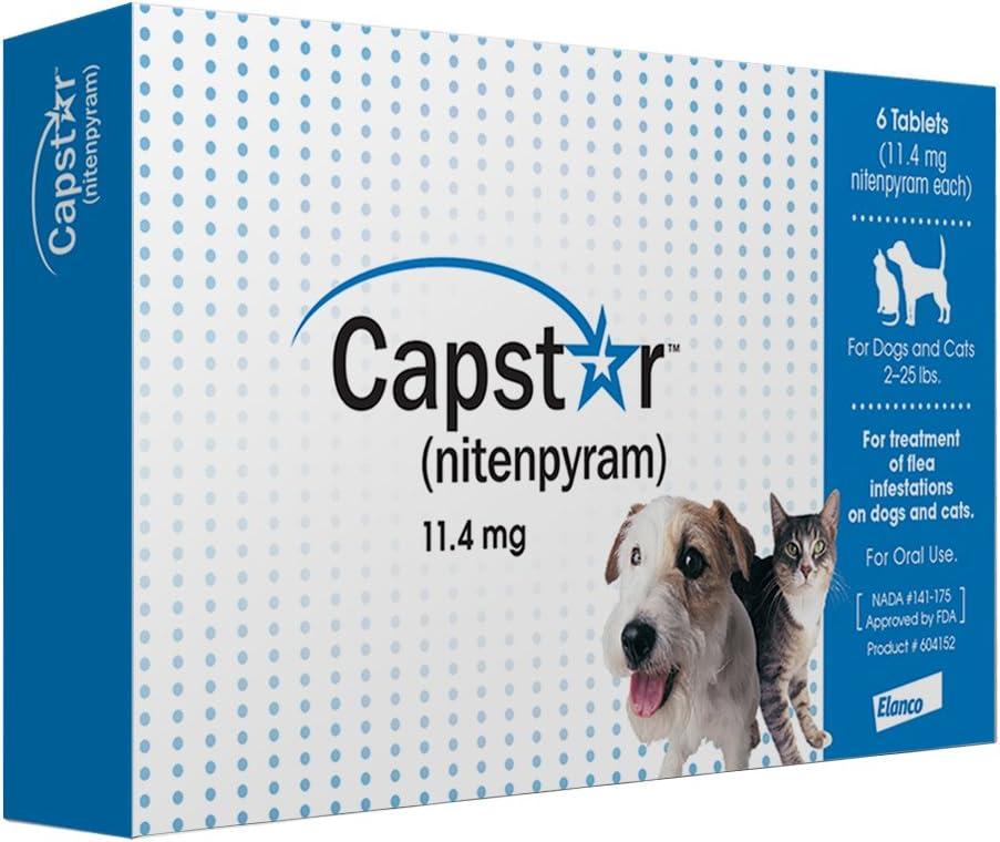 3. Capstar Novartis Flea Tablets