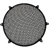 Goldwood Subwoofer Grille and Hardware 18'' Steel Waffle Speaker Woofer Grill Black (SWG-18C)