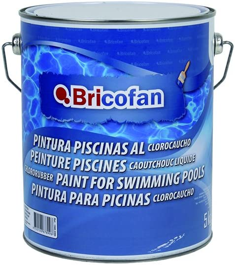 Cofan 15002395 Pintura piscinas clorocauchó, Azul, 5 kg