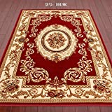 DXG&FX Blanket for living room and tea table Bedroom bedside mats Non-slip door carpet-G 200x280cm(79x110inch)