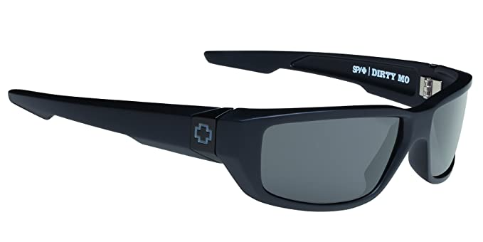 7701b6a7e6f Amazon.com  Spy Optic Men s Dirty Mo Polarized Rectangular