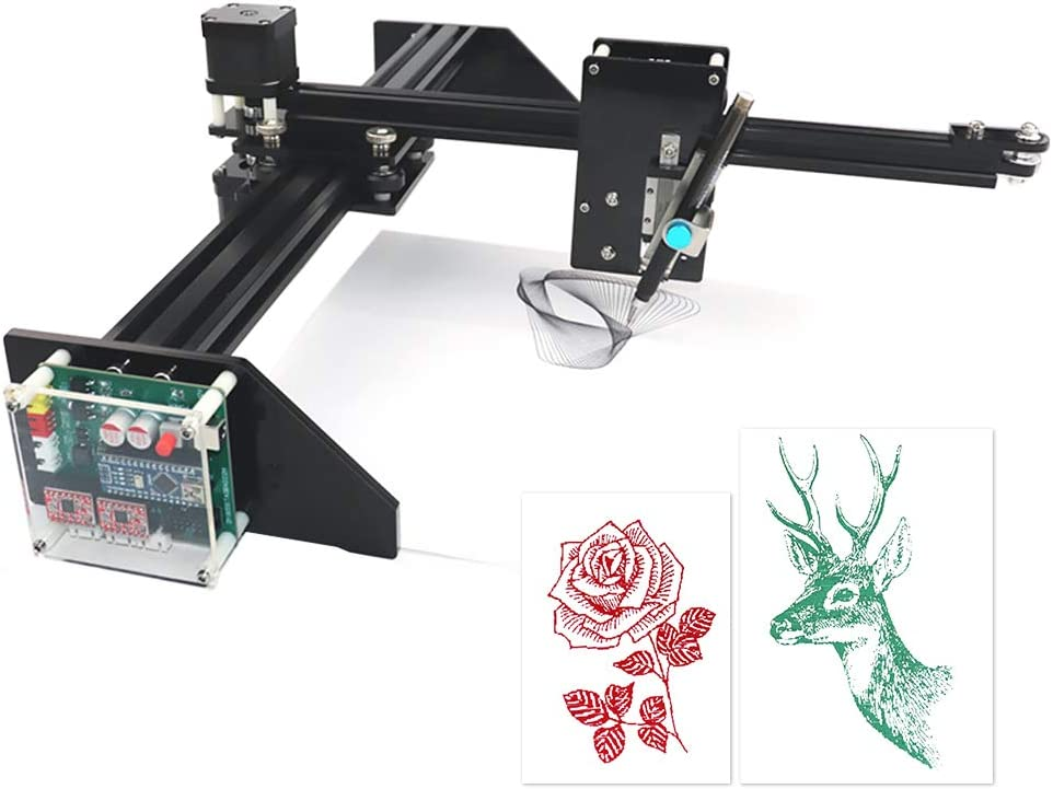 HUKOER Robot de Dibujo/Escritura Trazador XY DIY Alta Precisión ...