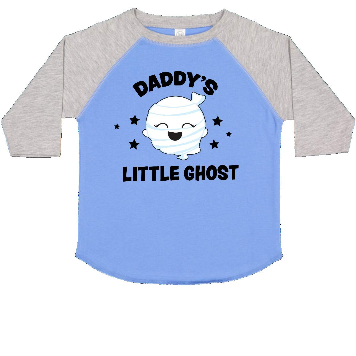 inktastic Cute Daddys Little Ghost with Stars Toddler T-Shirt