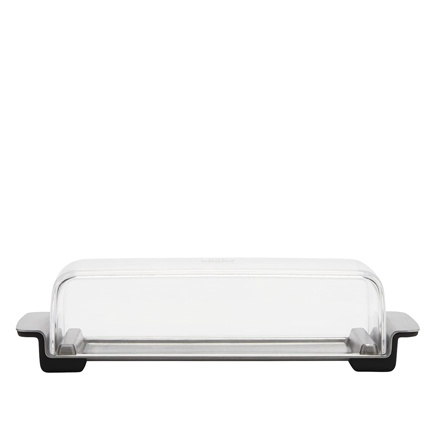 OXO Good Grips Butter Dish, Stainless Steel/Clear OXO Cook's Tools 11122400