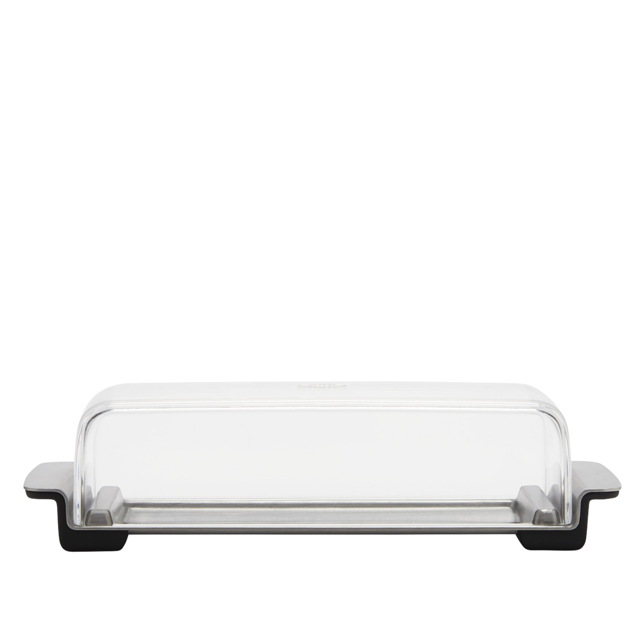 OXO Good Grips Butter Dish, Stainless Steel/Clear