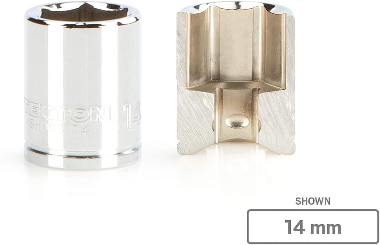 TEKTON 1//4 Inch Drive x 9 mm 6-Point Socket SHD02109