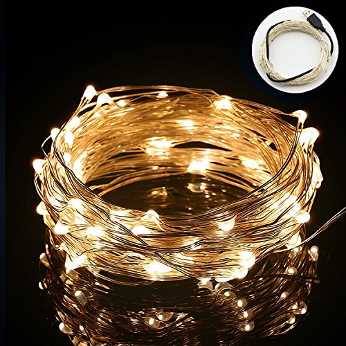 10M 100 Led String Fairy Lights In Warm White in Florida - 9
