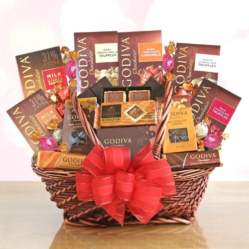 Signature Godiva Chocolate Lover's Gift Basket by Organic Stores