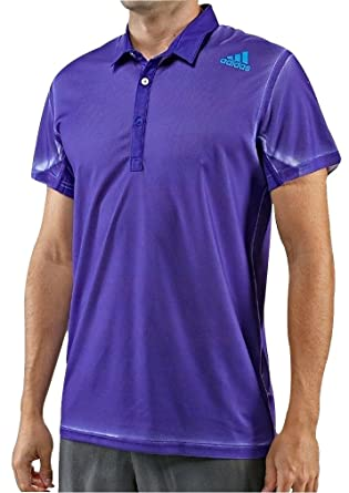 Polo Adizero Mens Shirt Sleeve Adidas Purple Tennis Short 8wP0ZOXkNn