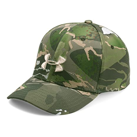 Amazon.com  Under Armour UA Camo Cap OSFA RIDGE REAPER FOREST  Sports    Outdoors ba656c56a02