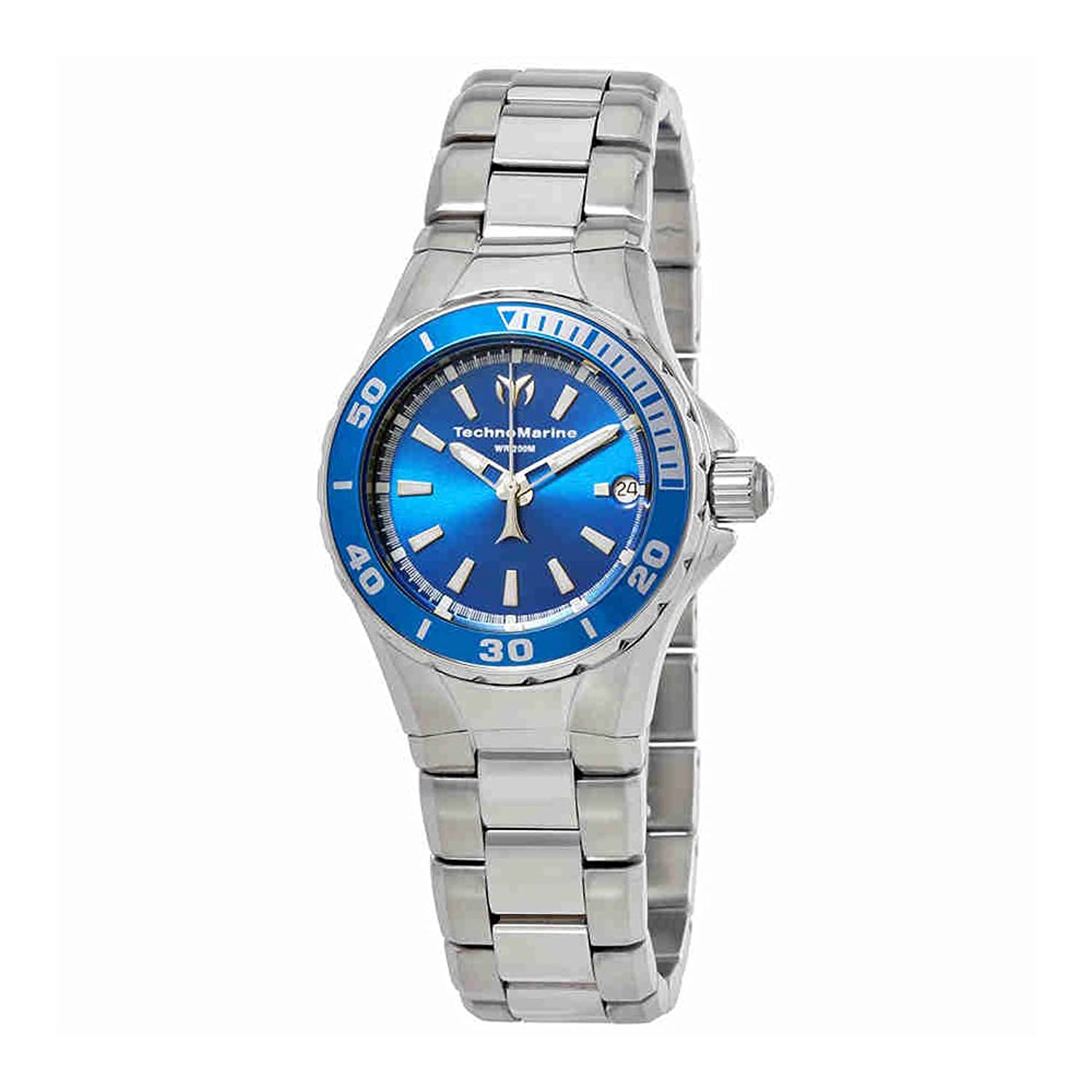 TECHNOMARINE SEA MANTA DAMEN-ARMBANDUHR 32MM SCHWEIZER QUARZ ANALOG TM-215006