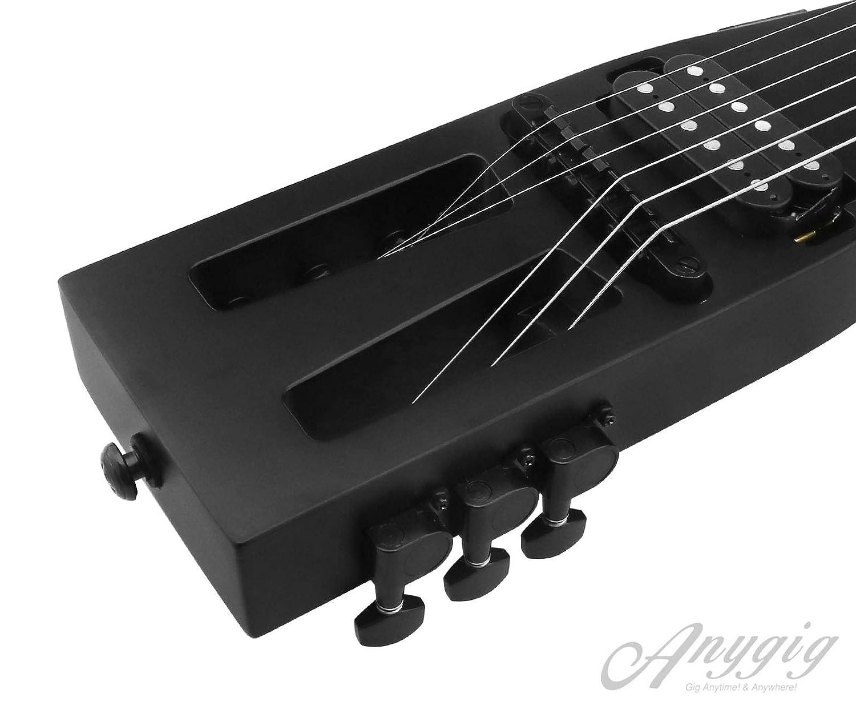 Anygig AGESE Guitarra eléctrica Tipo U de Arce Duro para Viajero de ...