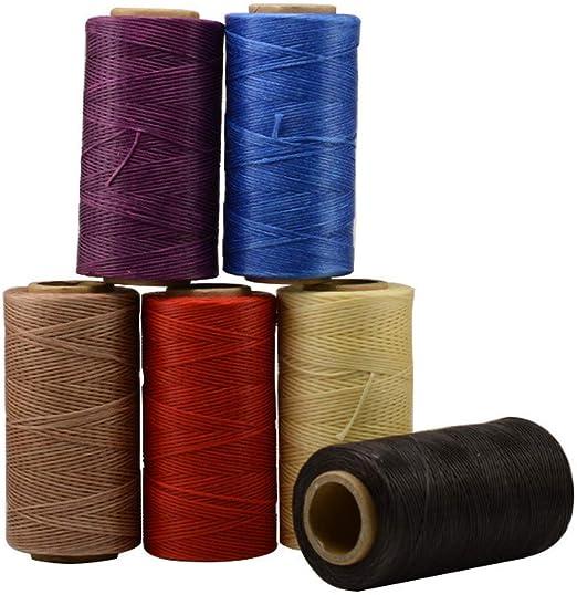 Vektenxi - Hilo de coser de algodón encerado, pequeño, hecho a ...