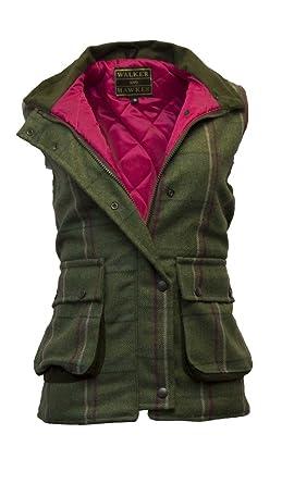 Veste sans manche femme tweed